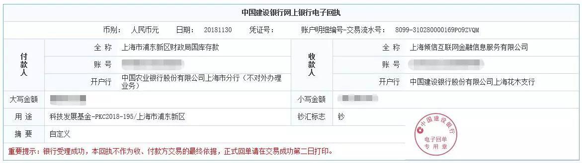 """钱香金融再获区政府""""技术创新资金""""专项资助!"""